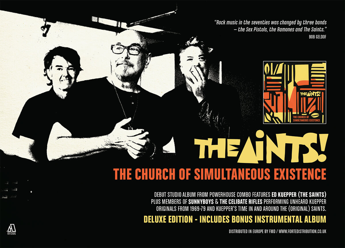 The Aints - The Church of Simultaneous Existence - Vive Le Rock